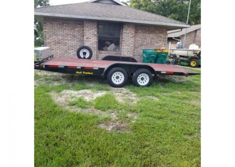 18ft Hull Hydraulic Lift  Trailer