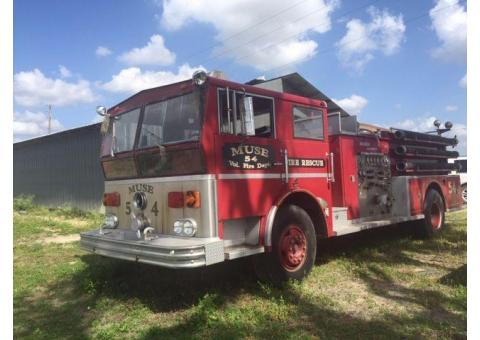Your Very Own FIRETRUCK!